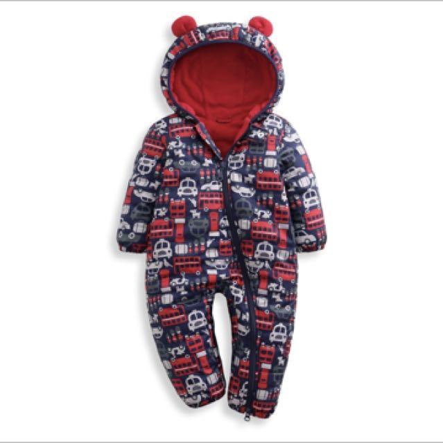 Lativ 嬰兒保暖連身衣