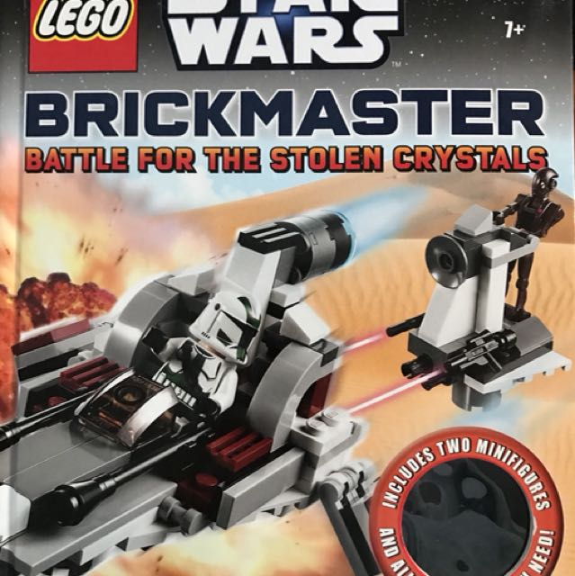 Lego Brickmaster Battle for the Stolen Crystal