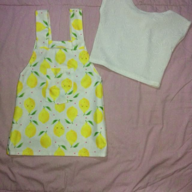 Lemon Jumpskirt