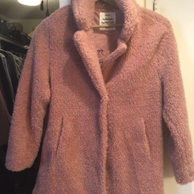 LinkShearling 3/4 Length Sleeve Jacket