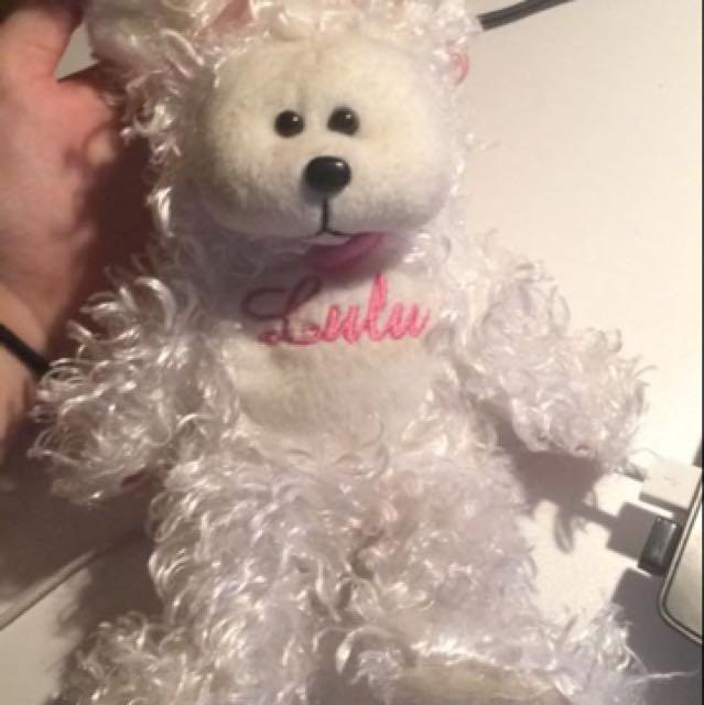Lulu the Maltese Bear