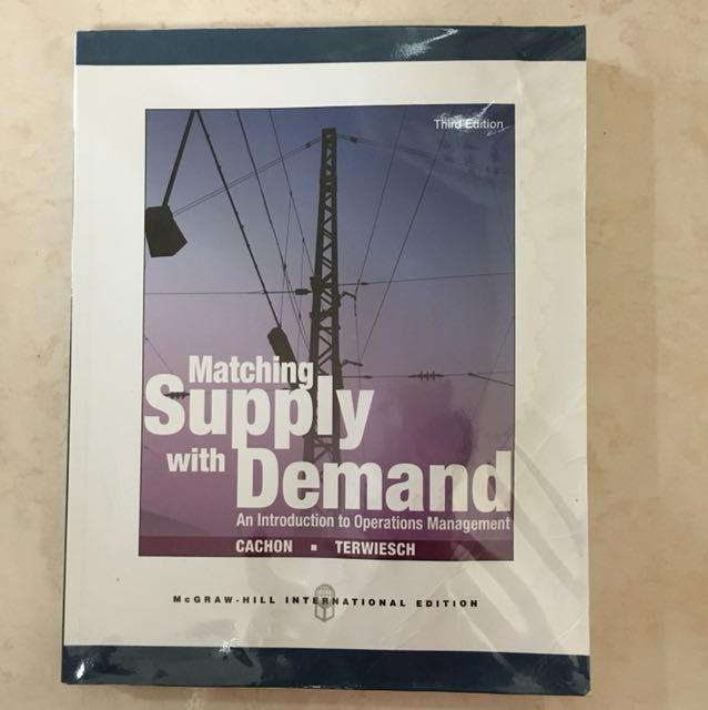 Matching Supply With Demand Books Stationery Textbooks On Carousell