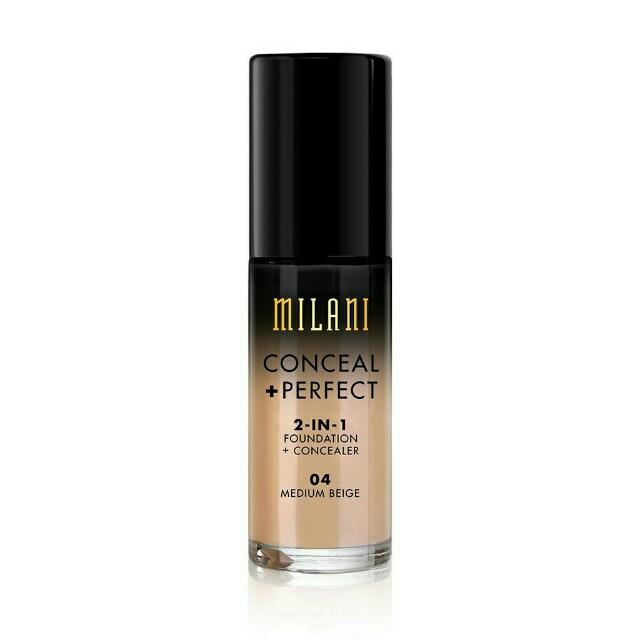 Milani Conceal + perfect 2in1 foundation and concealer