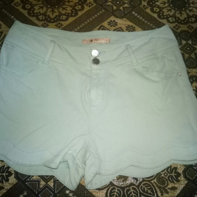 mint green sexy short