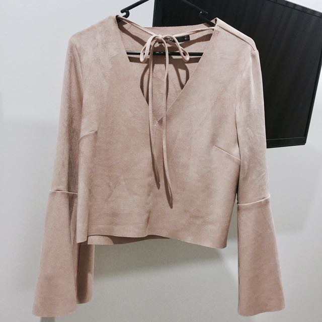Missguided Tie up Top