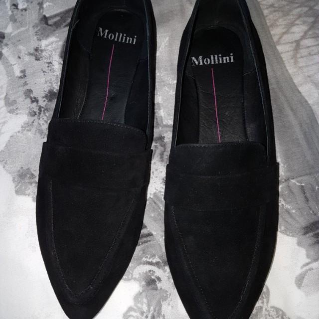 Mollini Gertrude Black Loafer/ballet flat