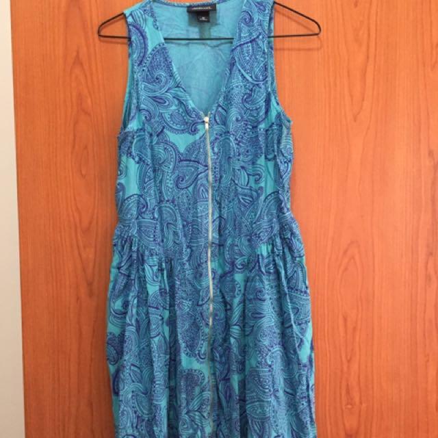 Monki Blue dress