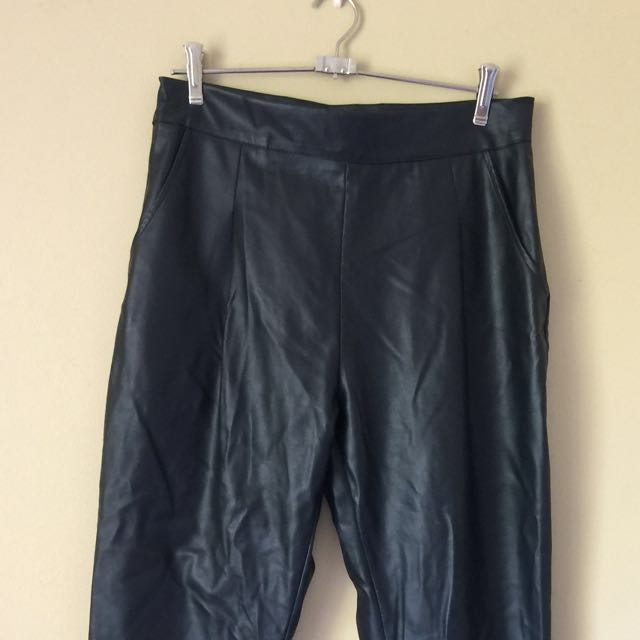 Mossman Faux Leather Pants