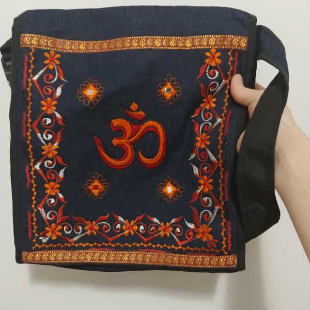 Nepalese Ohm Cross-Body Bag
