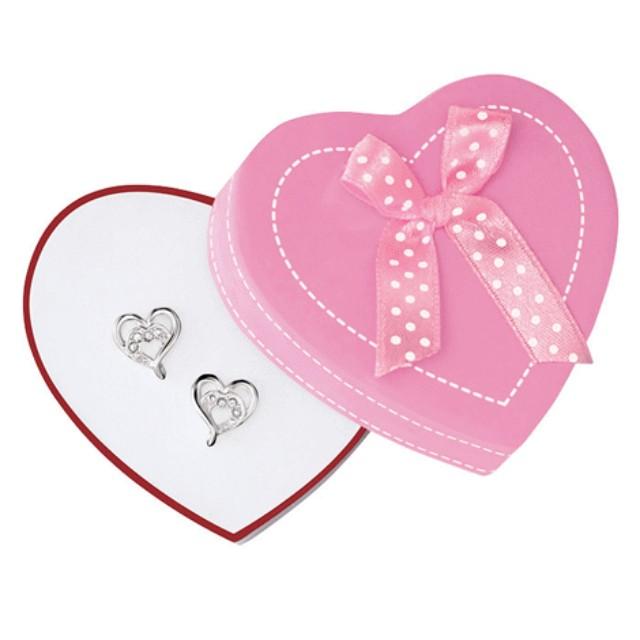 new! Avon Open Your Heart Earrings