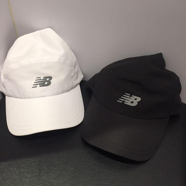 ~現貨不用等~new balance 超輕量黑白帽