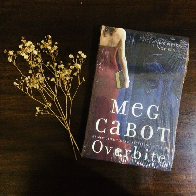 (New w/ bonus) INSATIABLE and OVERBITE by Meg Cabot