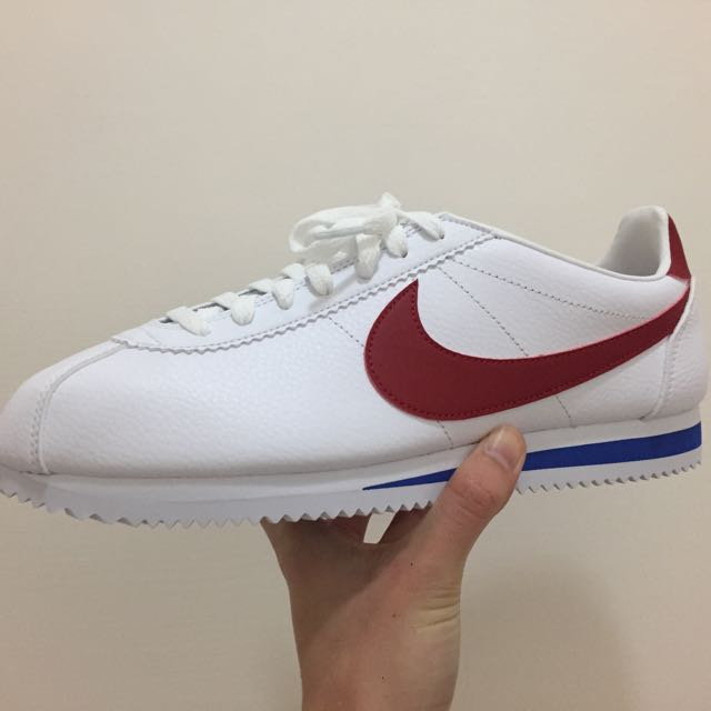 Nike Cortez 阿甘鞋 皮革 紅白