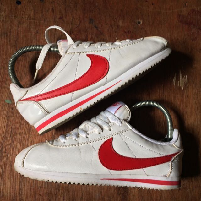 Nike Cortez GS Leather White/University Red