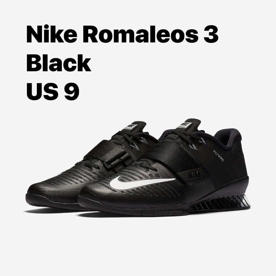 finest selection f1fa6 92492 Nike Romaleos 3, Sports, Sports   Games Equipment on Carousell