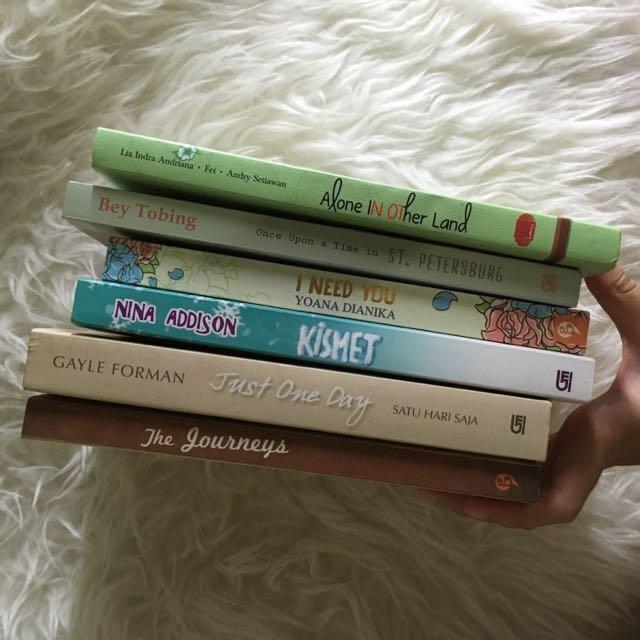 Novel Bekas, Buku Bekas