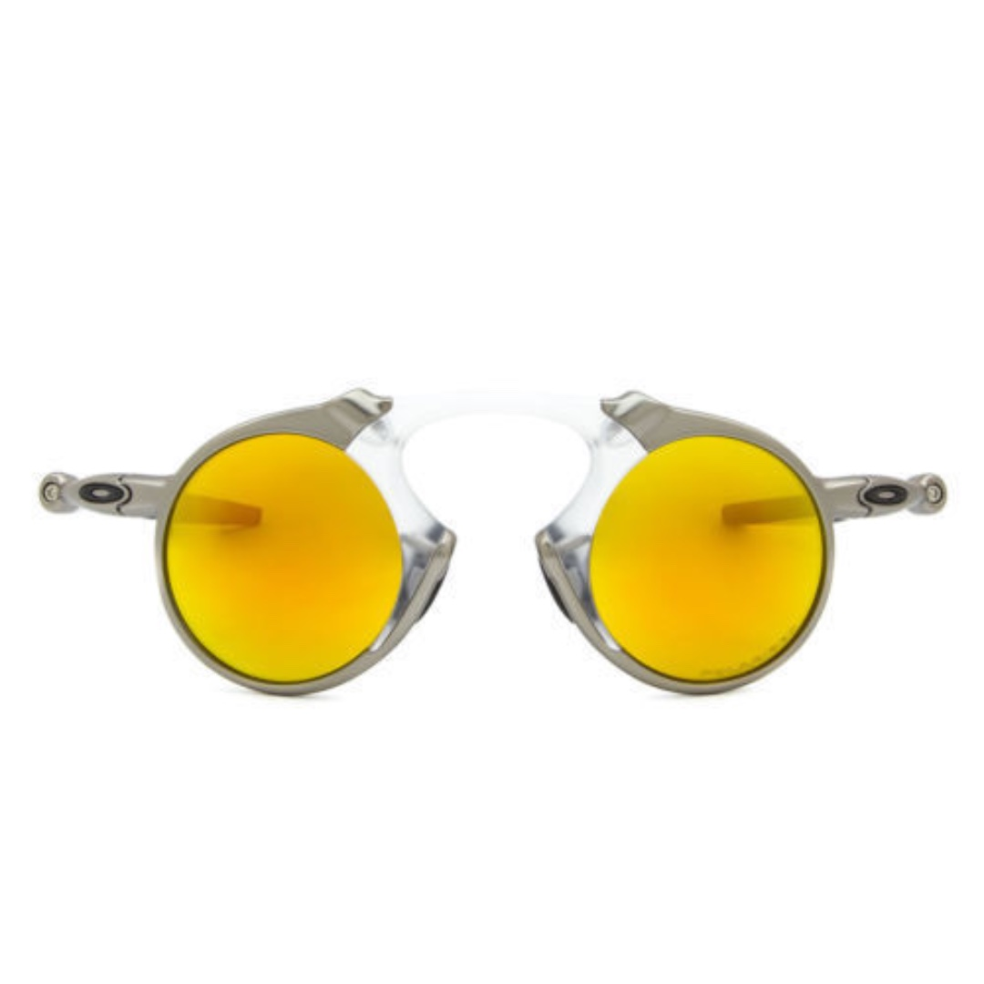 dccab58dc8 Oakley Men s Madman Polarized Iridium Round Sunglasses