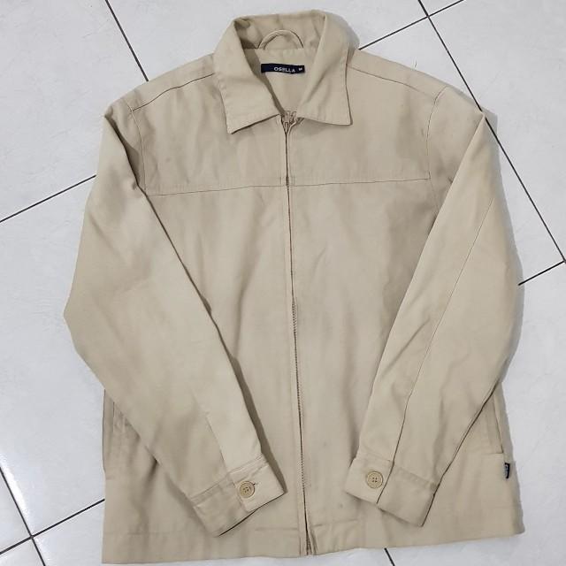 osella jacket pria size M kondisi 90%