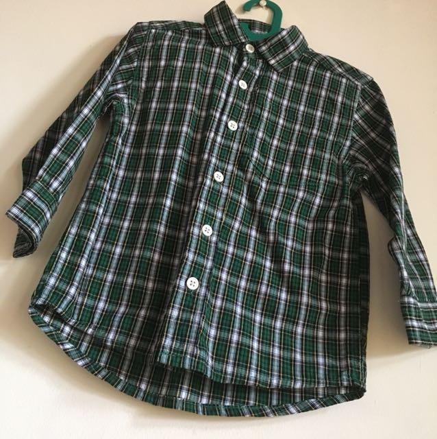 OshKosh B'gosh Tartan Shirt