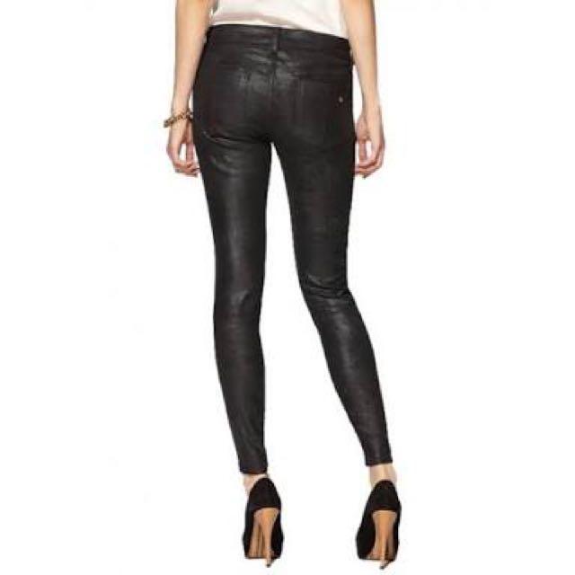 Oxygen slim fit black pants