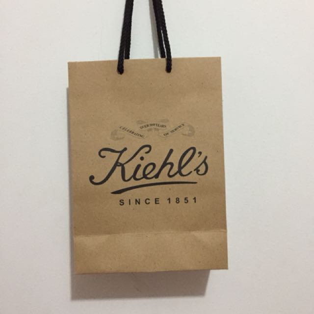 Paper bag Kiehls