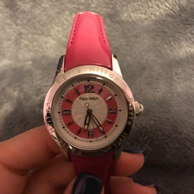Paris Hilton Fuschia Watch
