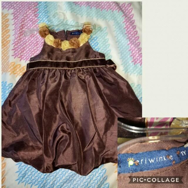 Periwinkle Kids Dress
