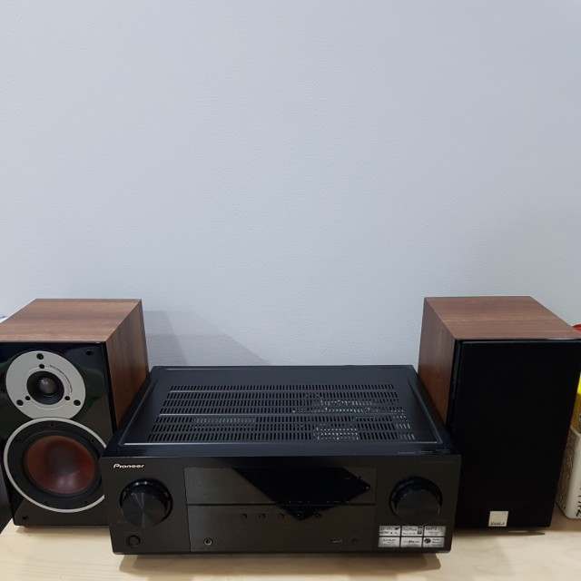 Pioneer VSX 522 And Dali Zensor Bookshelf Speakers Electronics Audio On Carousell