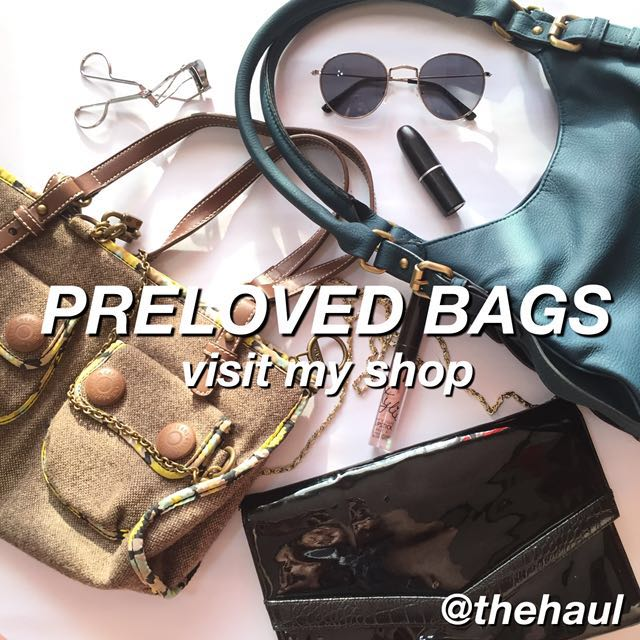 PRELOVED BRANDED BAGS AVAILABLE!