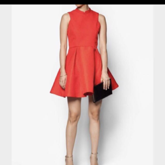 Premium jacquard Cny dress