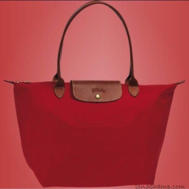 price drop  Longchamp Le Pliage Nylon (Long handle), Women s Fashion ... 17e5d0228a