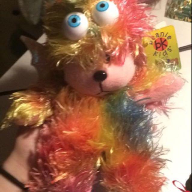 Rainbow the Baby Monster Bear