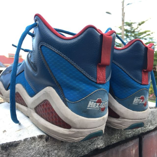 the latest 758e8 ea44b Reebok Basketball Shoes Hexalite, Men s Fashion, Footwear on Carousell