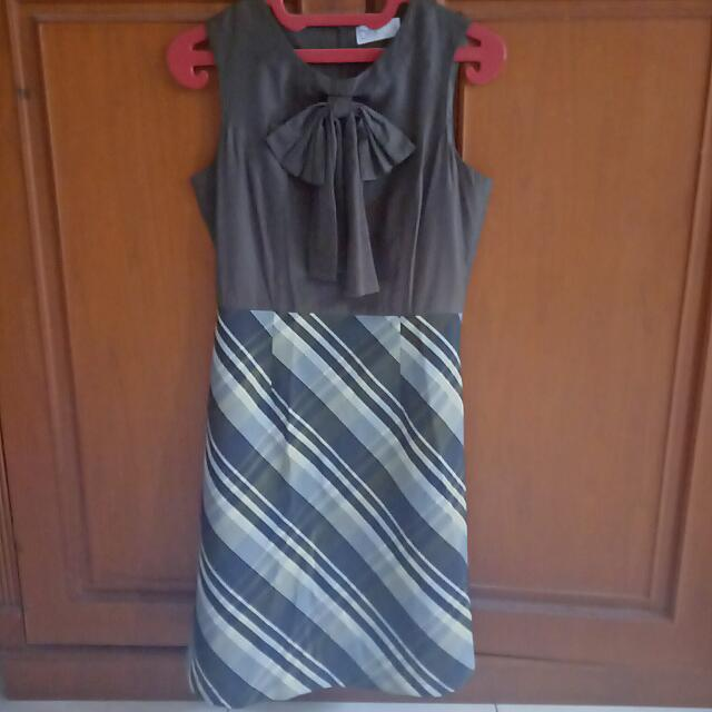 Ribbon Stripe dress