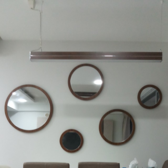 Set Of 5 Round Mirrors Furniture Home Decor On Carousell