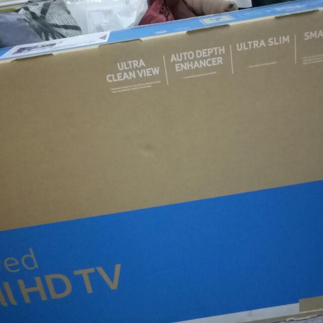 Samsung 49 inch Curved full Hd Smart tb