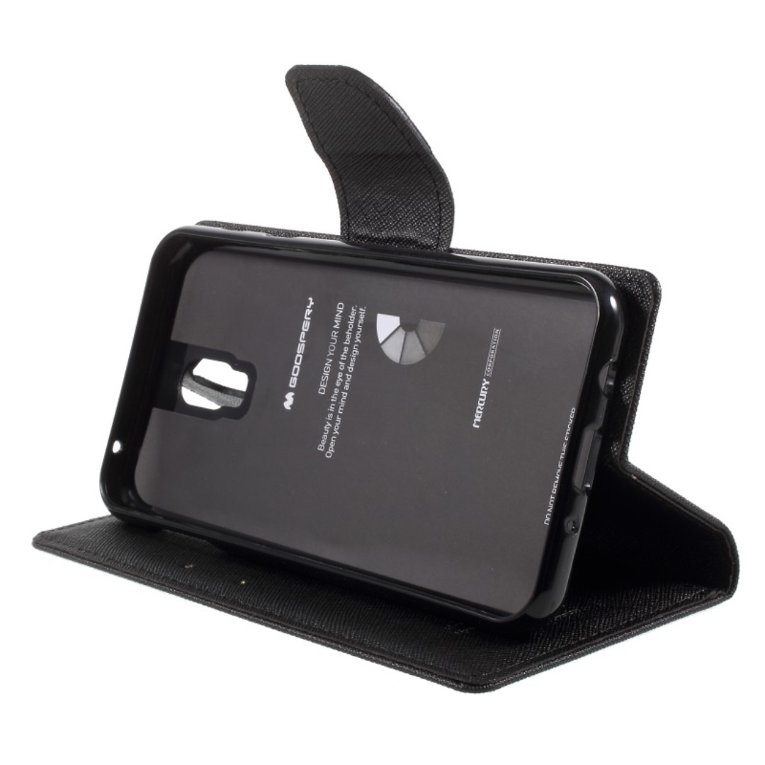 Samsung J7+ Plus ☆ C8 ☆ Goospery Fancy Diary Case ☆ Mercury, Mobiles & Tablets