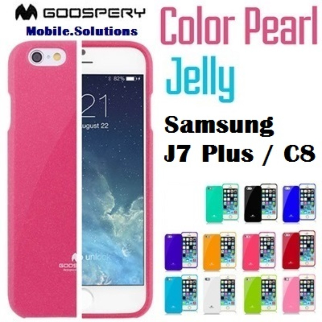 Goospery Mercury Color Pearl Jelly Soft Case Untuk Lg Magna Original All Type Special  Hotpink Samsung Galaxy S7 Navy 4 Source Photo