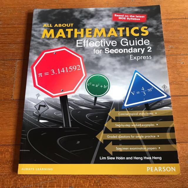 Sec 2 Math Guide