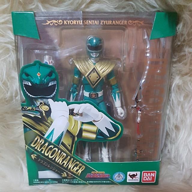 S.H Figuarts kyoryu Sentai juranger Dragon Ranger Action Figure BANDAI Giappone
