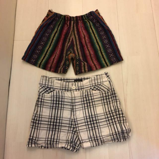 Short pants x 2