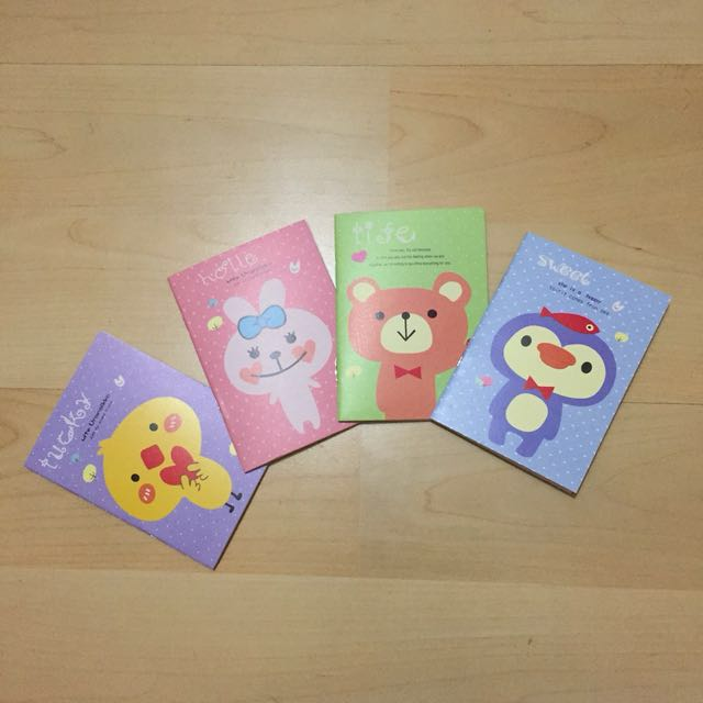 small cute notebook design craft craft supplies tools on carousell
