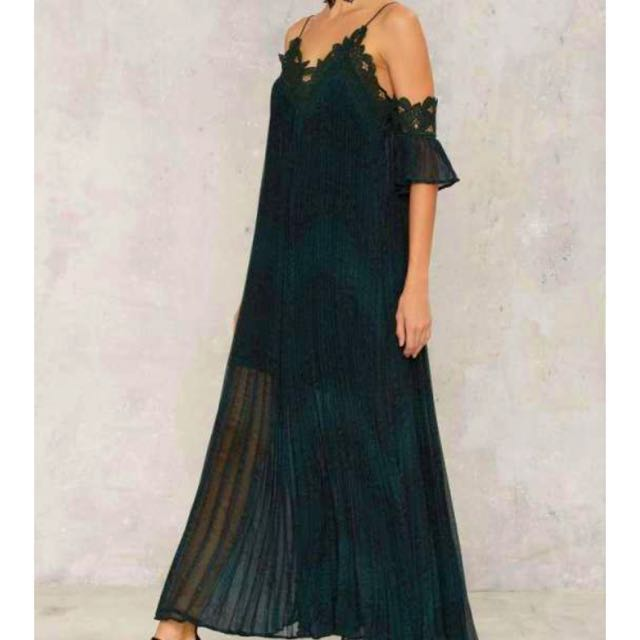 Snake What's Yours Maxi Dress Size M RRP$260