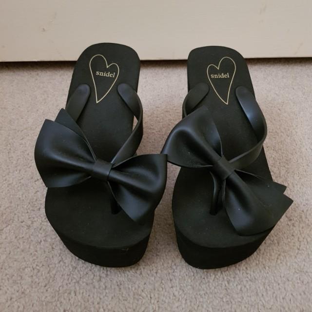Snidel platform sandals