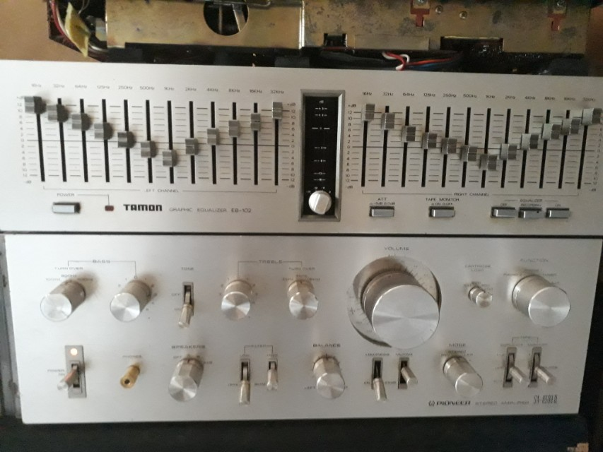 TAMON eb-102 graphic equalizer
