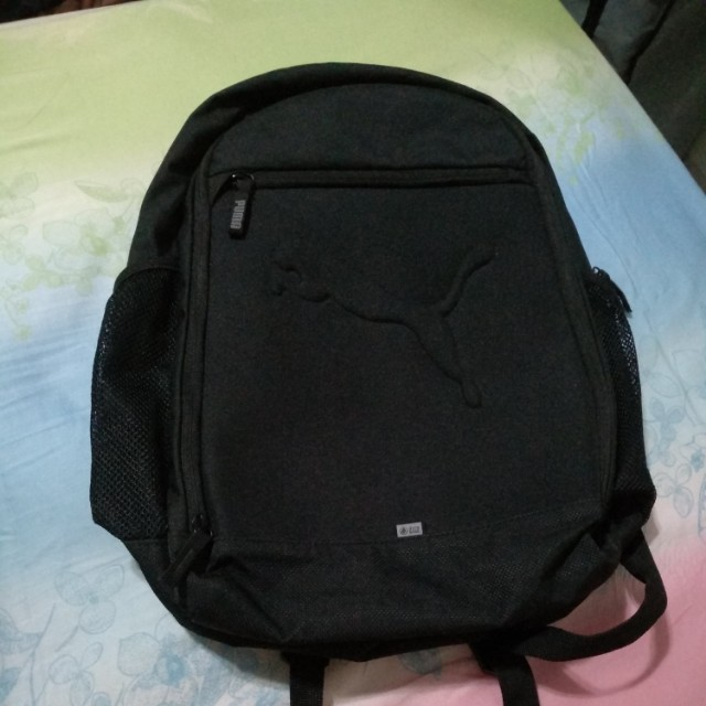 Tas ransel Puma ORIGINAL black 3 zipper