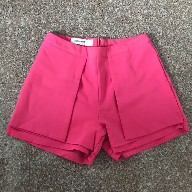 TEM side flaps fitted shorts