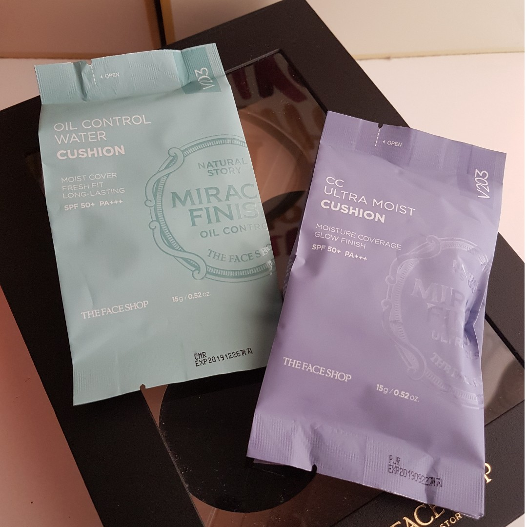 The Face Shop Miracle Finish Cushion (Refills)
