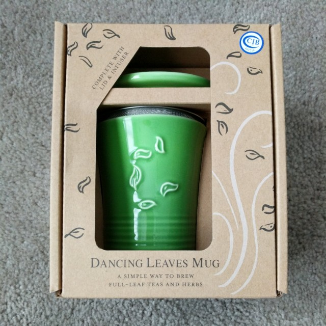 The Republic of Tea® Dancing Leaves Mug