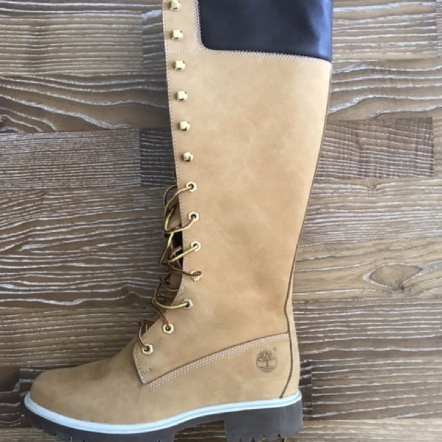 Timberland women's leather knee high boot
